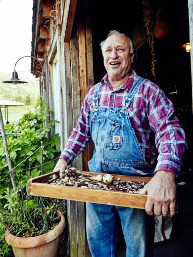 Blackberry Farm - Master Gardener John Coykendall at the Garden Shed