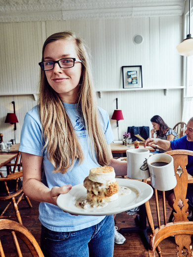 Hominy Grill -- Chelsea Clifton brings a Big Nasty
