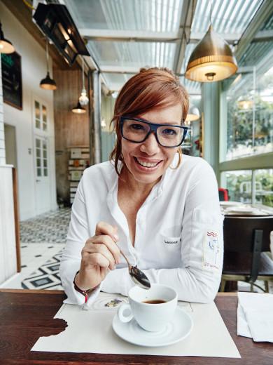 Chef Leonor Espinosa of Restaurante Mercado