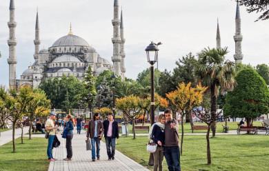 Istanbul, Turkey -- Blue Mosque