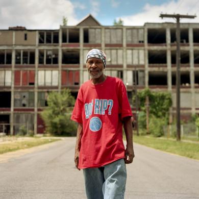 Ronnie. Packard Plant, Detroit, MI.