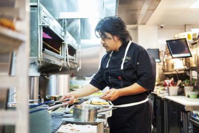 Chef Edward Lee at Succotash