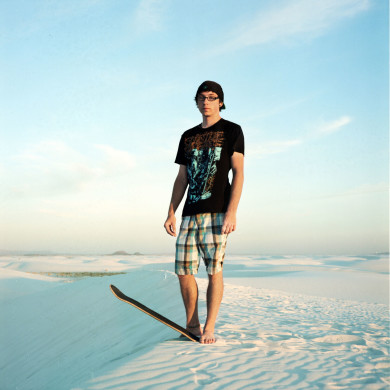 George. Student. White Sands National Monument, NM