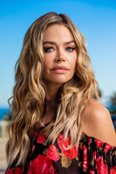 Denise Richards poses for a portrait in Malibu, CA on July, 11, 2020.