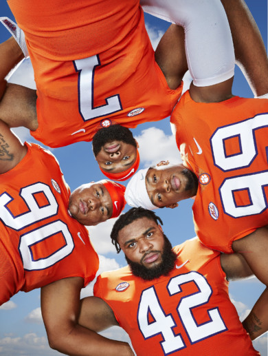 Clemson University Defensive Line, 2018 College Football Preview Issue