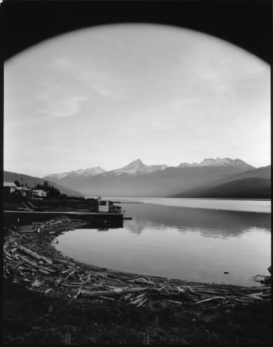 Downy RV Resort, Lake Revelstoke / Columbia River. British Columbia, 2016