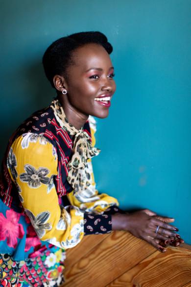 Lupita Nyong'o at Ironwood Hall in Austin, Texas.