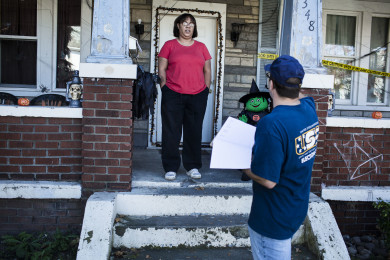 United Steelworkers Members Campaign for Obama