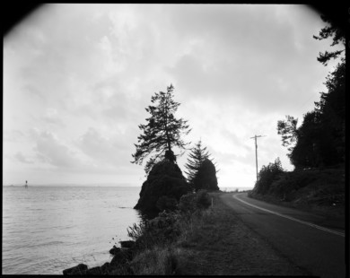 Looking West From Near Altoona, Washington - 2015