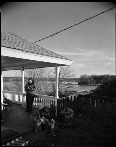 Front Porch, Second St, St. Helens Oregon