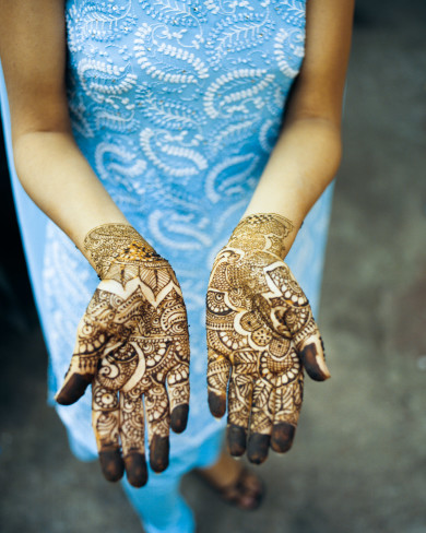 Henna Hands - Kerala, India