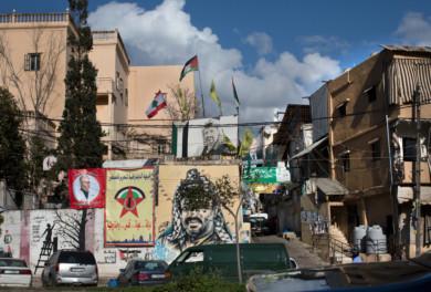 Street scene in Beirut, Lebanon