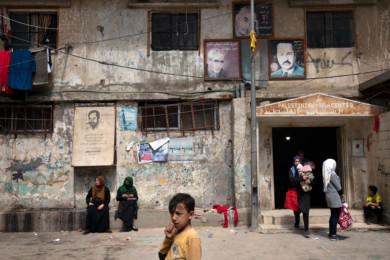 Shatila, Palestinian Refugee Camp in Beirut, Lebanon