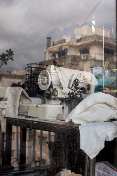Zena Sabbagh's workshop, Beirut, Labanon