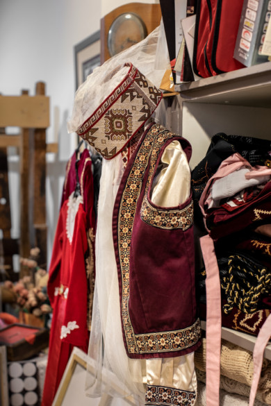 Traditional Armenian clothing. Beirut, Lebanon