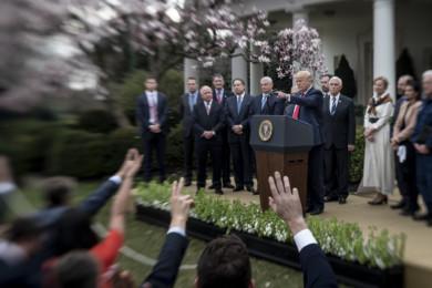 President Trump Delivers Press Conference on Coronavirus Response