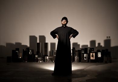 Rami Farook, artist and gallerist.