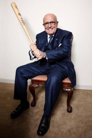 Rudy Giuliani in New York, in January 2017.