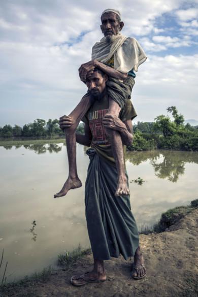 Rohingya refugees stranded
