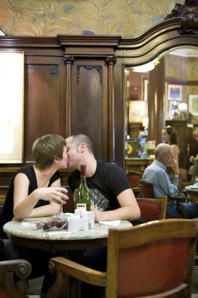 Café Tortoni, Dowtown, Buenos Aires, Argentina