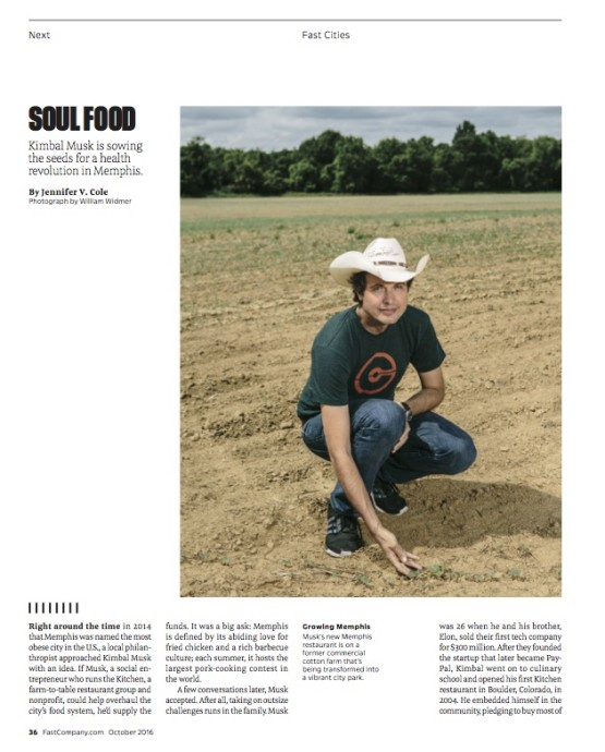 Fast Company-Kimbal Musk in Memphis-William Widmer 2