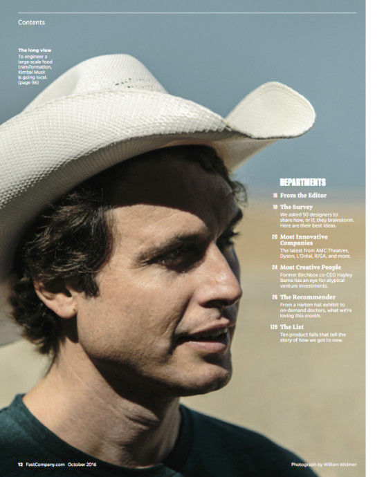 Fast Company-Kimbal Musk in Memphis-William Widmer
