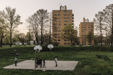 Neglected Housing Projects in East St. Louis