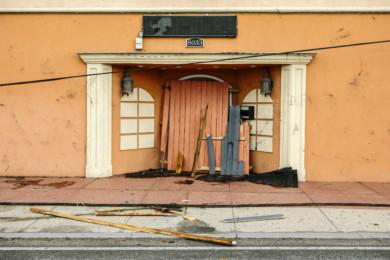 Tornado in New Orleans, Louisiana