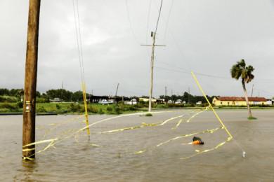 Flooding in Jean Lafitte