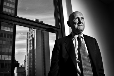 Portraits-Photos: Burton Malkiel.Photographer: Julie Glassberg