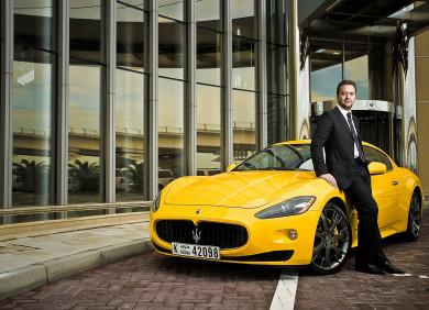 Umberto Cini, Managing Director Maserati Middle East & Africa