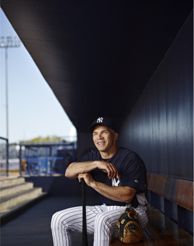 Joseph Elliot Girardi, manager of the New York Yankees