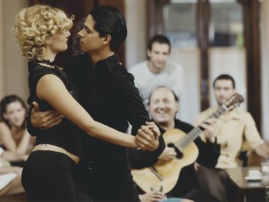 Milonga and Tango Show, Palacio San Miguel, Buenos Aires, Argentina