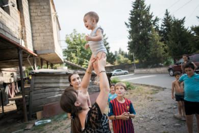 Leihmütter in Georgien