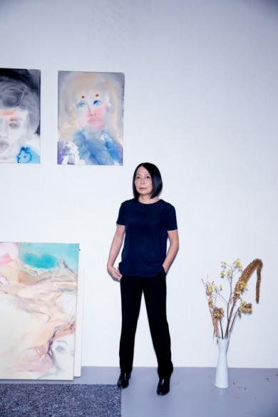 Leiko Ikemura, 2017, Copyright www.peterrigaud.com