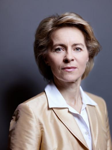 Ursula von der Leyen, Hannover, 2012, copyright www.peterrigaud.com
