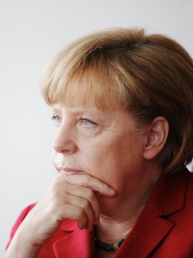 Angela Merkel, Berlin, 2013, Copyright www.peterrigaud.com