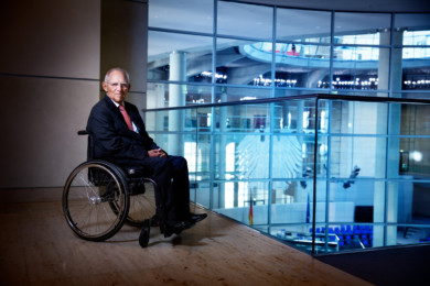 Wolfgang Schäuble, Berlin 04.10.2019, copyright www.peterrigaud.com