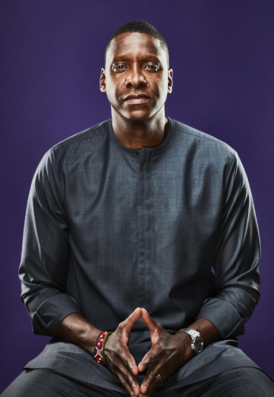 Masai Ujiri, President of the Toronto Raptors & Alternate NBA Governor, in Toronto, Sept. 2019.