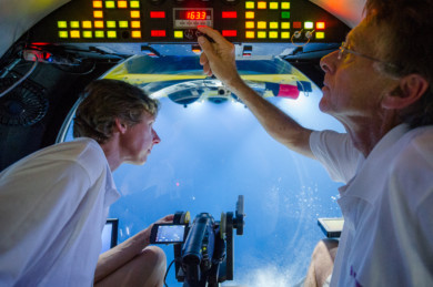 In search for giant squid: submarine Lula 1000