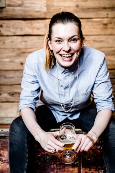 Sophia Wenzel, beer sommelier