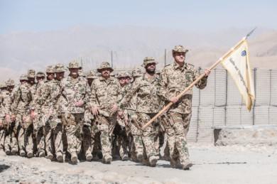 German forces in Afghanistan