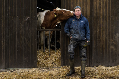 Former organic farmer Soenke Meier