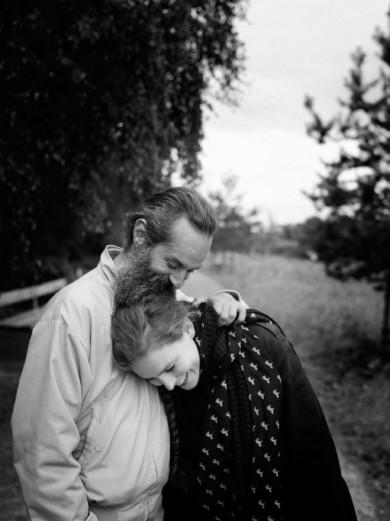 Berlin, Summer 2014 - couple in the park of gleisdreieck