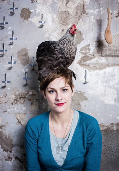 Niederlande, eating-designer Marije Vogelzang in ihrem Studio in Amsterdam